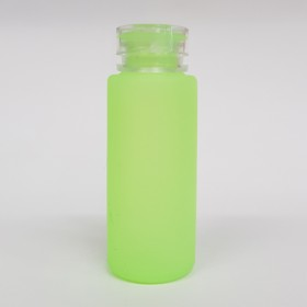 Zeroten Skull Bottle Green Fluo