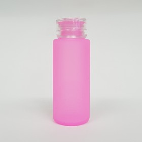 Zeroten Skull Bottle Pink