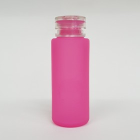 Zeroten Skull Bottle Pink Fluo