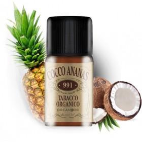 Dreamods Cocco e Ananas No.991 Tabacco organico - Aroma 10ml