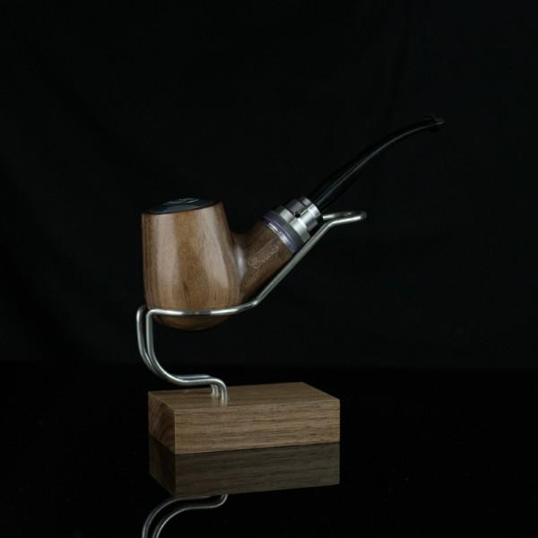 Pipa Meccanica Créavape Bent Noyer