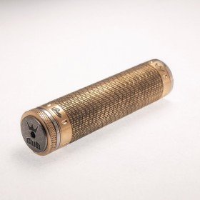 GUS Oddity 18650 Mechanical Mod Brass