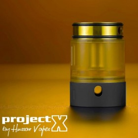 Hussar Vapes Project X Extended Kit Black/Gold