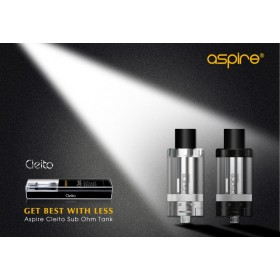 Aspire - CLEITO TANK BLACK - 3.5ML