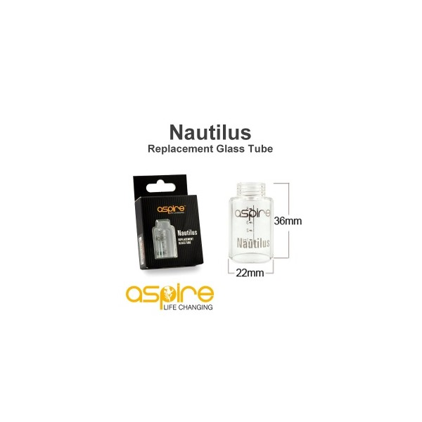 Aspire - Tank di Ricambio - Nautilus Glass 5ml