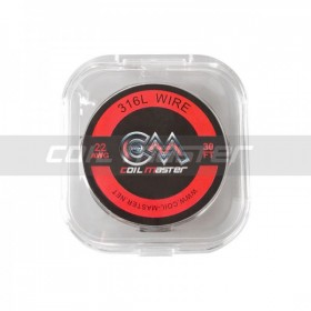 Coil Master 316L SS Wire 22 AWG