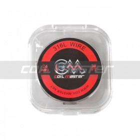 Coil Master 316L SS Wire 24 AWG