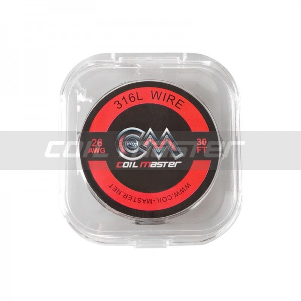 Coil Master 316L SS Wire 26 AWG