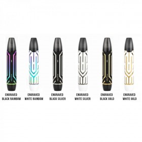 HotCig Kubi Kit Engraved Black Rainbow