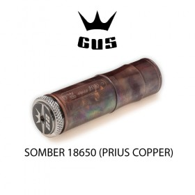 GUS Somber Prius Copper 18650 Battery Case