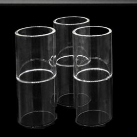 The Vaping Gentlemen Club Millennium RTA Pirex Glass