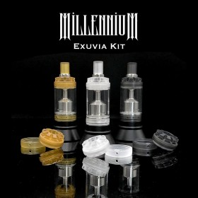 The Vaping Gentlemen Club Millennium Exuvia Kit Frosted PETG