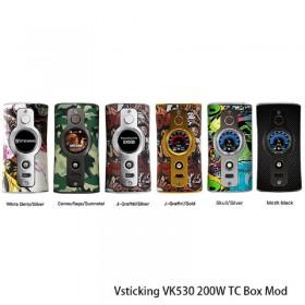 VSTICKING VK 530 Mod White Deity Silver