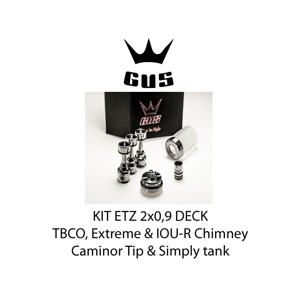 GUS ETZ Kit Deck 2x0,9 Matte