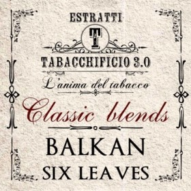 Tabacchificio 3.0 Classic Blends Balkan Six Leaves - Aroma 20ml