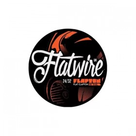 Flatwire Flapton Flat Clapton Stainless 316L 24/32 AWG