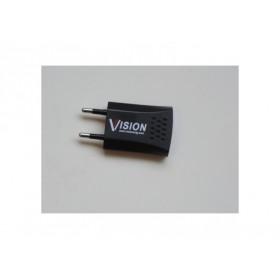 CARICABATTERIA USB SLIM DA MURO VISION