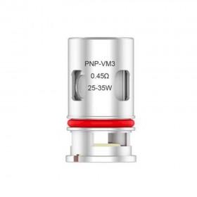 VooPoo PnP VM3 Coil di ricambio 0,45 ohm