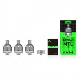 VLite Vape Preco 2 MTL Atomizzatore Monouso 3pz Clear