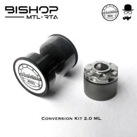 Ambition Mods & The Vaping Gentlemen Club Bishop Conversion Kit 2,0ml Gun Metal