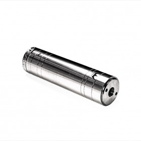 GUS Harpoon SS Battery Case 18650 Hybrid Satin Finish