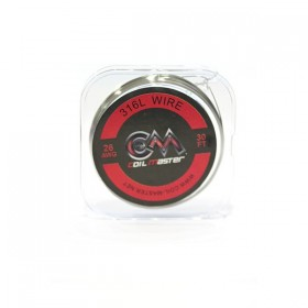 COIL MASTER - 316L SS Wire 26 AWG