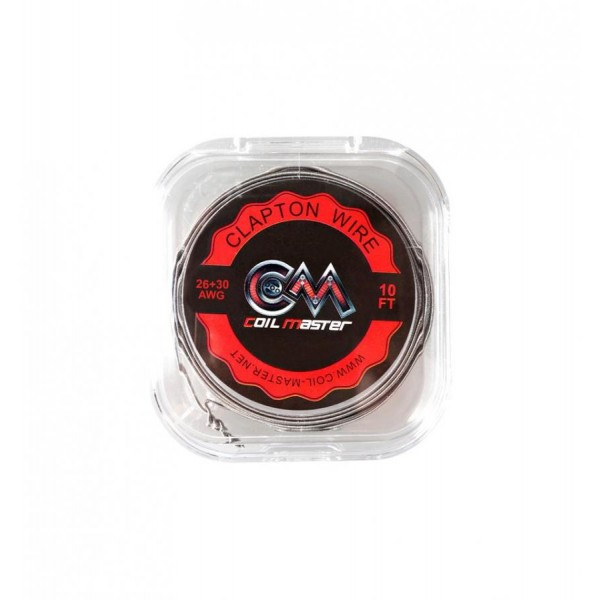COIL MASTER - Clapton Wire 26+30AWG