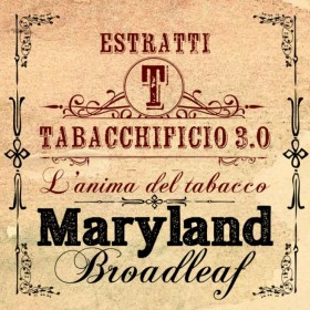 Tabacchificio 3.0 Tabacchi in Purezza Maryland Broadleaf - Aroma 20ml