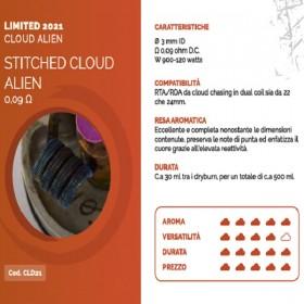 Breakill\'s Alien Lab Limited 2021 Cloud Stitched Cloud Alien 0,09 ohm
