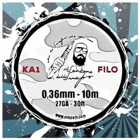 Filo Kanthal A1 27GA 0.36mm Il Santone dello Svapo