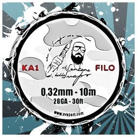 Filo Kanthal A1 28GA 0.32mm Il Santone dello Svapo