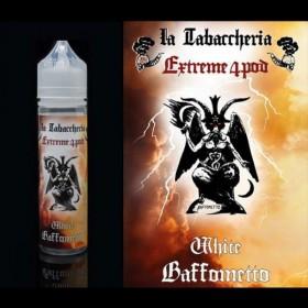 La Tabaccheria Extreme 4 Pod Baffometto White - Concentrato 20ml