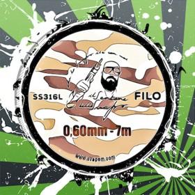 Filo SS316 0.60mm Il Santone dello Svapo