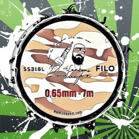 Filo SS316 0.65mm Il Santone dello Svapo