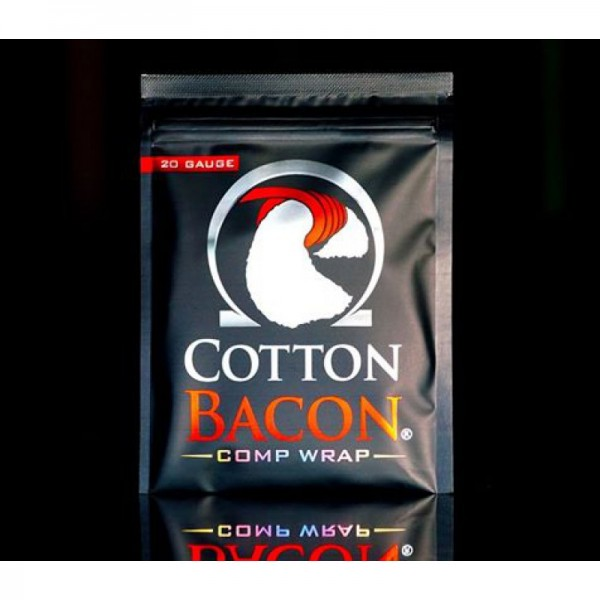 Cotton Bacon Comp Wrap - Wick\' n\' Vape - 22GA