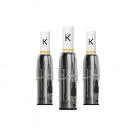 KIWI Pod di Ricambio Soft Black (3pz)