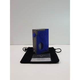 Diamond - Box BF - Allumide Asphalt black/Poliammide Blu