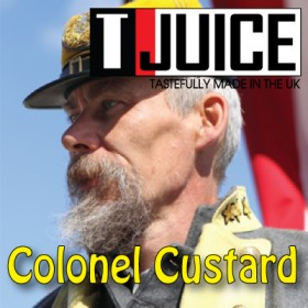 T-JUICE COLONEL CUSTARD - AROMA CONCENTRATO - 10 ml